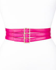 Triple Buckle Waist Belt