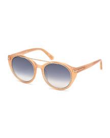 Joan Two-Tone Aviator Sunglasses