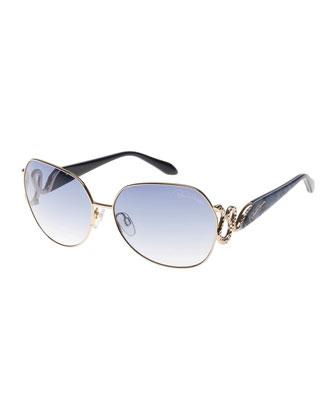 Muliphein Universal-Fit Snake-Temple Sunglasses