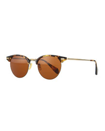 Executive II Round Sunglasses