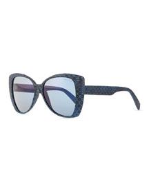 I-Lux Snakeskin Sunglasses