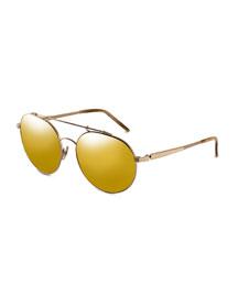Combustion 5 24k-Lens Sunglasses, Golden (Made to Order)