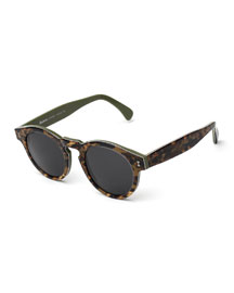 Leonard Marbled Sunglasses, Savana