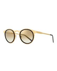 Miki Light Round Sunglasses