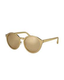 Round Sunglasses w/ Snake Arms