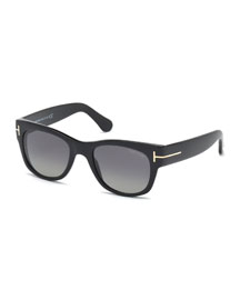 Cary Polarized Sunglasses, Black
