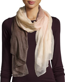 Degrade Cashmere Ombre Scarf