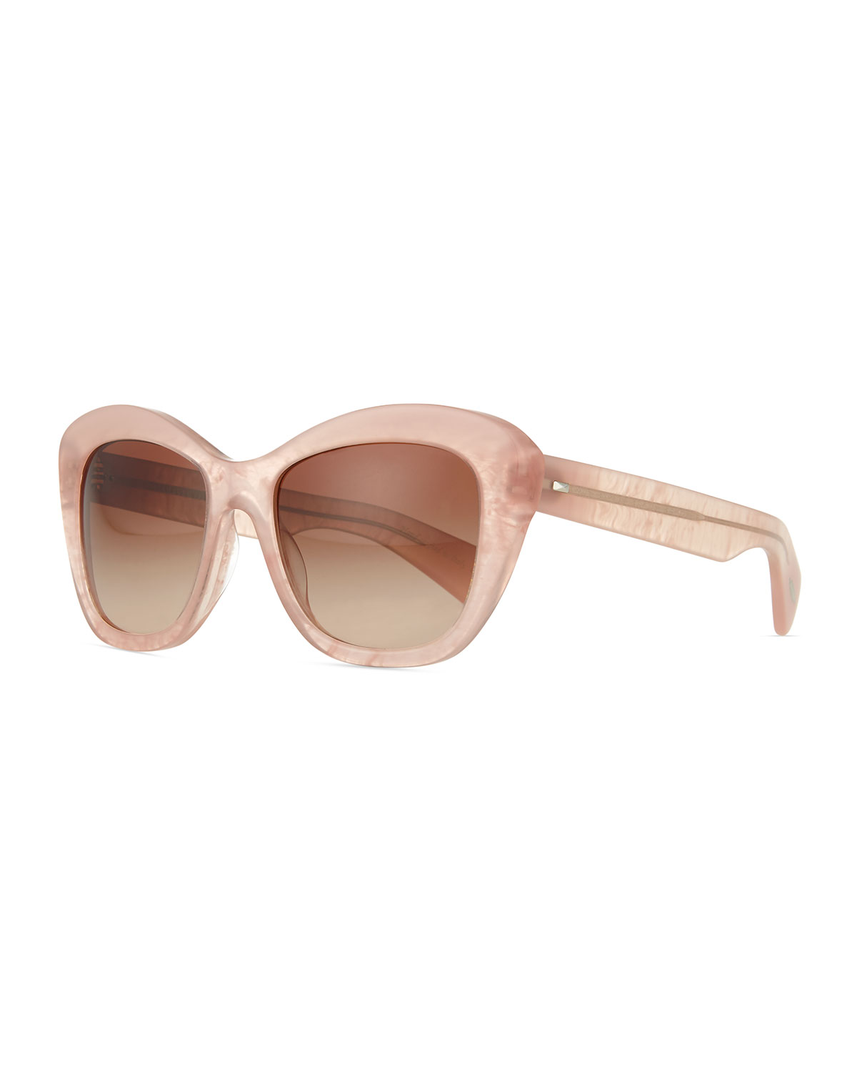 Oliver Peoples Emmy Universal Fit Cat-Eye Sunglasses, Pink