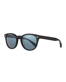 Sheldrake Plus 52 Photochromic Sunglasses, Black Matte