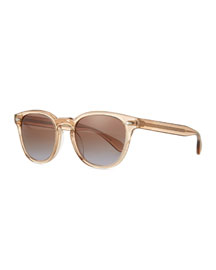 Sheldrake Plus Square Plastic Sunglasses