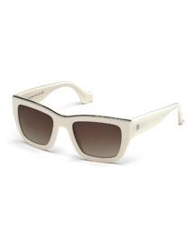 Acetate Rectangle Sunglasses