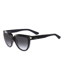 Square Floating Stud Sunglasses