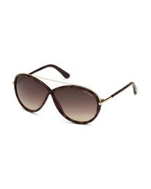 Tamara Brow-Bar Butterfly Sunglasses