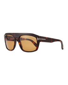Conrad Brow-Bar Sunglasses