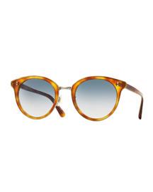 Spelman Photochromic Sunglasses, Light Brown/Silver