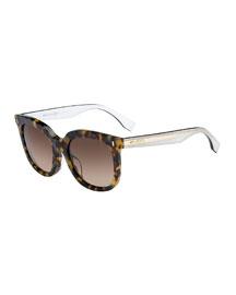 Gradient Square Universal-Fit Sunglasses