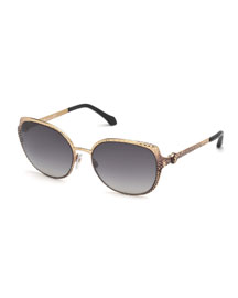 Limited Edition Interchangeable Sunglasses, Gold