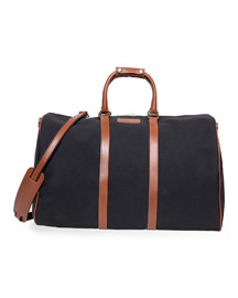Classic Canvas Duffel Bag, Black