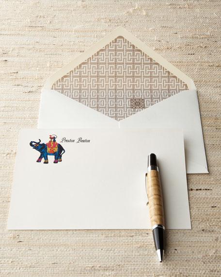 """40 """"Monkey & Elephant"""" Cards"""