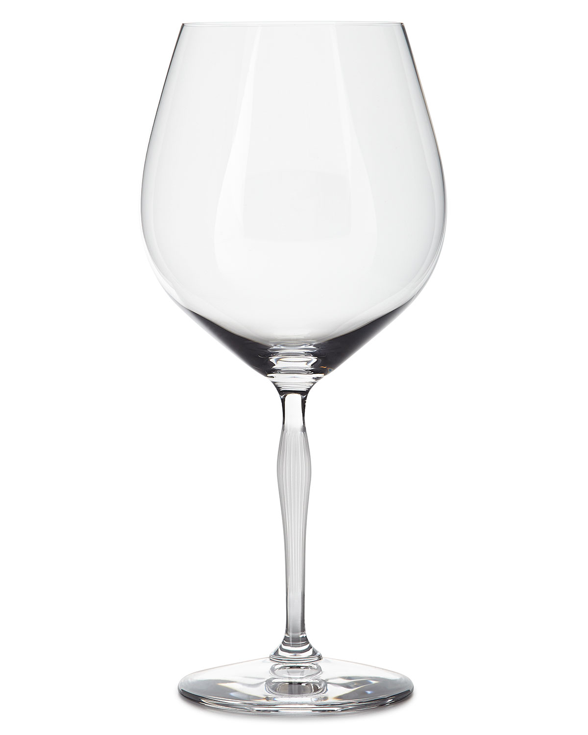 Lalique 100 Points Burgundy Glass, Clear