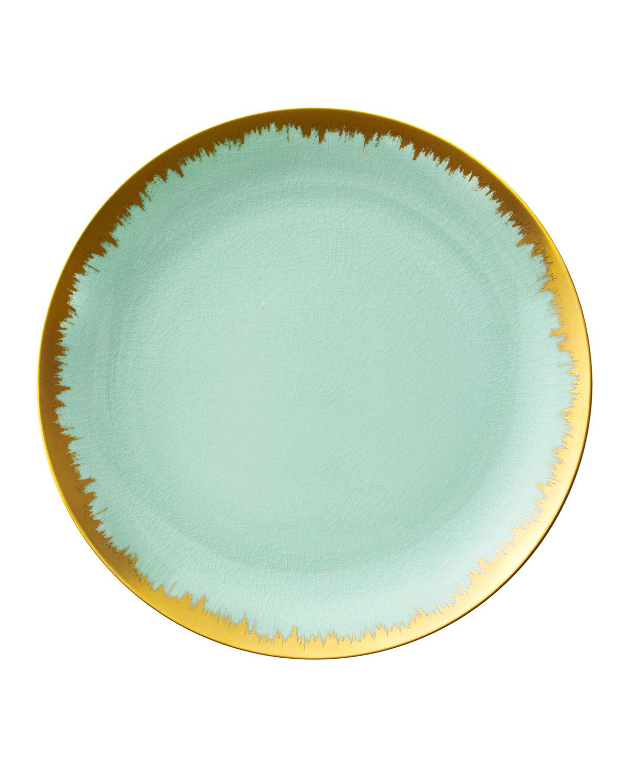 Kim Seybert Seaglass Brushstroke Dinner Plate, Blue