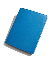 Leather-Covered Ring-Bound Notebook