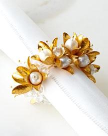 Pearl Garland Napkin Ring