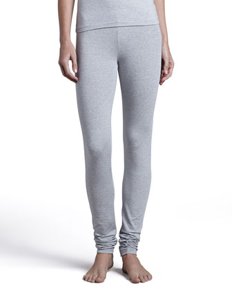 Tricot Leggings, Gray
