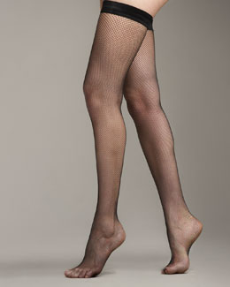 Wolford Twenties Stay-Up Stockings