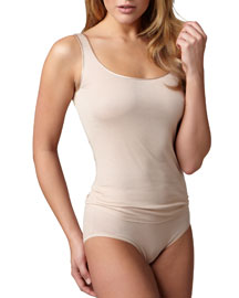 Cotton Seamless Tank, Skin