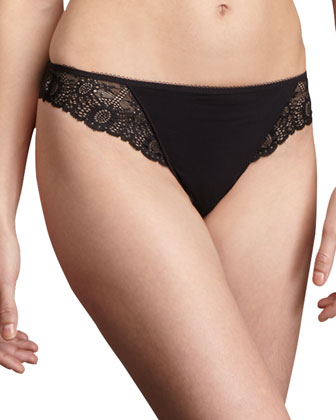 Caressence Tanga, Black