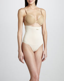 La Perla High-Waist Thong, Nude
