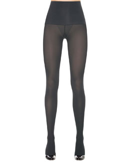 Spanx Haute Contour Tights, Charcoal