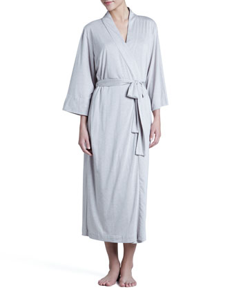 Zen Long Jersey Wrap Robe