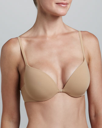 Invisible Push-Up Plunge Bra