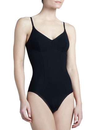 Invisible Contour-Seamed Bodysuit