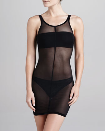 Tulle Forming Shapewear Dress