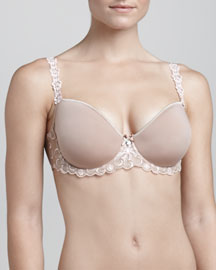 Revelation 3-D Molded-Cup Bra, Nude