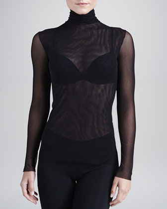 New Soire Sheer Turtleneck