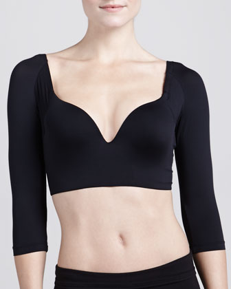 Betsy Half-Sleeve Push-Up Bra