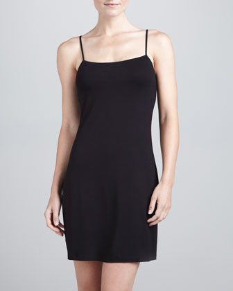 Talco Slip Dress, Black