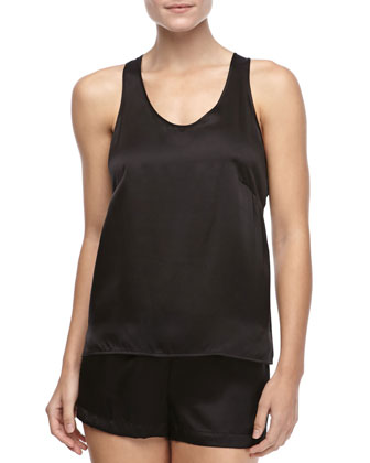 Dolce Sleeveless Silk Tank