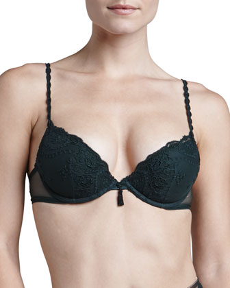 Ardientemente Push-Up Bra, Brazilian Briefs & Garter Belt