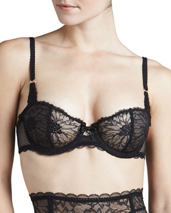 Opera Lace Multi-Position Demi Bra