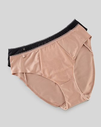 Galuchat High-Cut Briefs