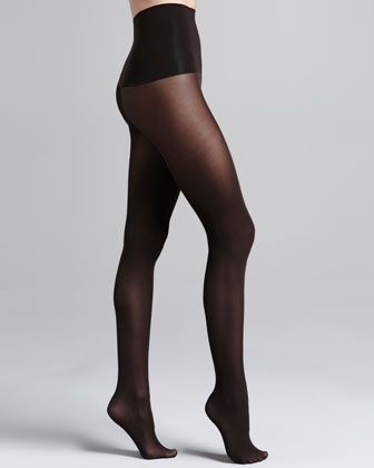 Haute Contour High-Waisted Opaque Tights