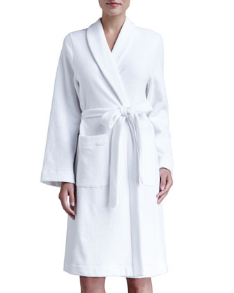 Plush Basic Tie-Waist Robe