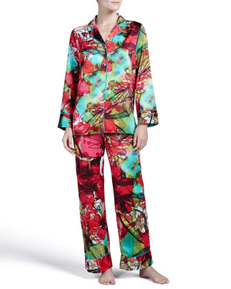 Madame Ning Satin Pajamas
