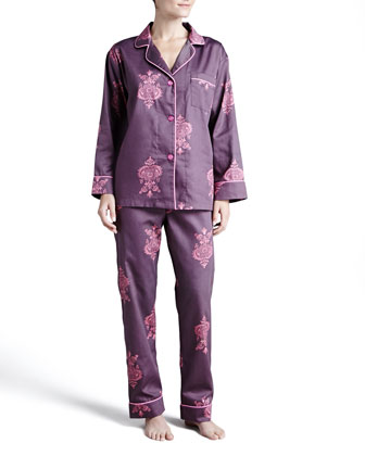 Chandelier Classic Sateen Pajamas