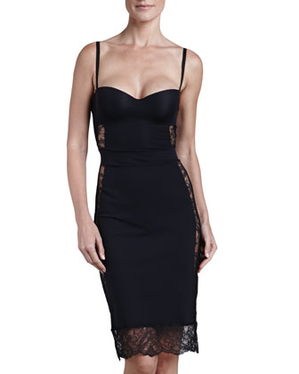 Allure Convertible Slip, Black